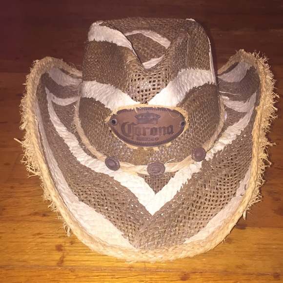 30726443dc597 Corona straw cowboy hat